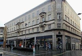 Newport Market - Image: Newport Market High Street, Newport