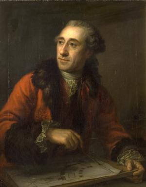 Nicolas-Henri Jardin - Nicolas-Henri Jardin, by Peder Als in 1764