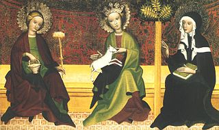 Saints Martha, Agnes, and Clara