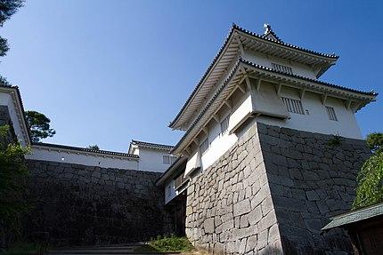 二本松城、箕輪門と附櫓(霞ヶ城公園)