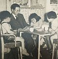 Nijo Sukemoto with his family.JPG