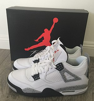Air Jordan - Nike Air Jordan IV, (White Cement Colorway)