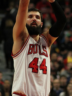 Nikola Mirotić - Mirotić with the Bulls in 2015
