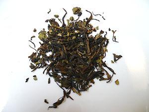 Nilgiri tea - Nilgiri black tea leaves