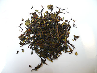 Nilgiri tea - Nilgiri black tea leaves