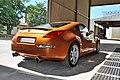 Nissan 350Z Premium Pack sunset orange, 2003, view rear right.jpg