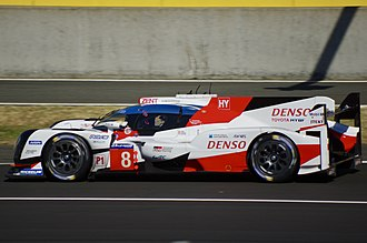 2018 24 Hours of Le Mans - Toyota Gazoo Racing No. 8 Toyota TS050 Hybrid, Winner of the 2018 24 Hours of Le Mans