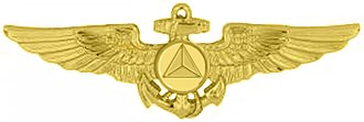 United States Aviator Badge - NOAA Aviator insignia
