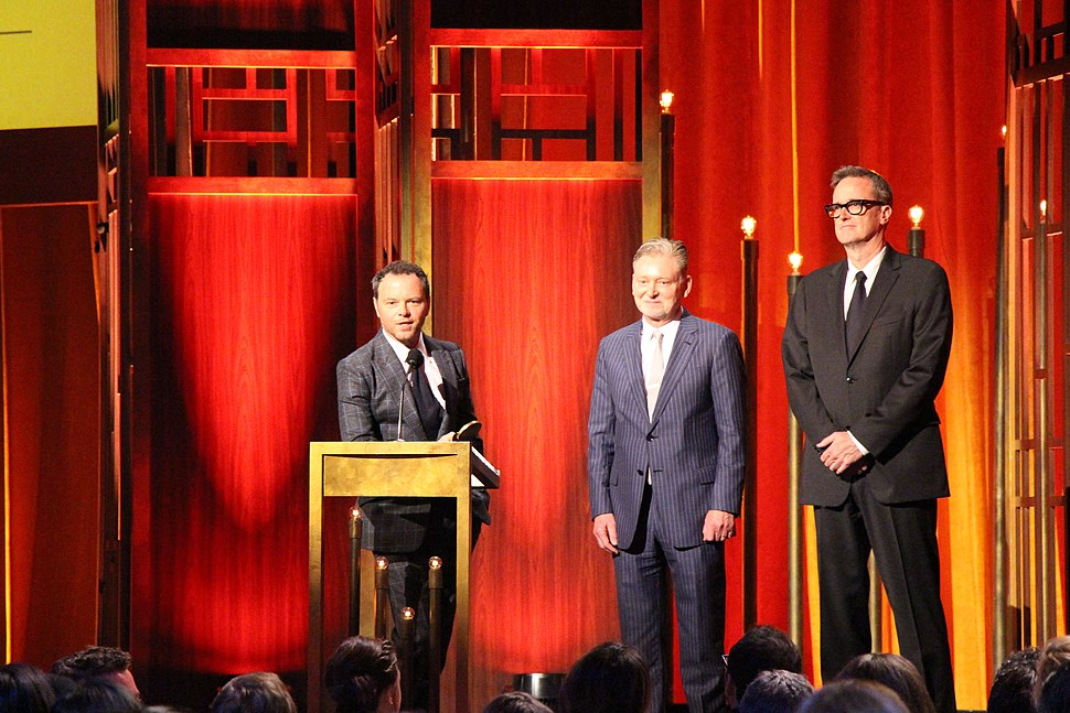 Noah Hawley, Warren Littlefield and John Cameron at the 74th Annual Peabody Awards