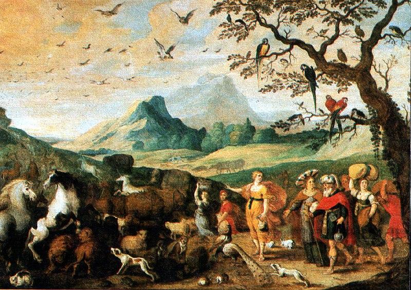 Datei:Noahs Einzug in die Arche Hans Jordaens.jpg
