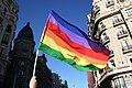 Non-standard LGBT flag, Madrid Gay Pride 2008.jpg