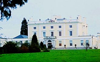 Norbury Park - The current manor house, built in 1774.
