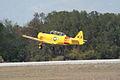 North American SNJ-6 Texan Navy Takeoff 04 TICO 13March2010 (14598717542).jpg
