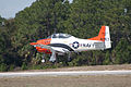 North American T-28B Trojan Navy N63NA Landing 05 TICO 13March2010 (14412925869).jpg