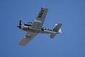 North American T-28C Trojan Sherry Berry Fourth Pass 02 TICO 13March2010 (14576482766).jpg