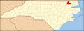 North Carolina Map Highlighting Hertford County.PNG