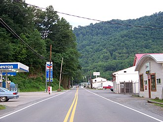 Cherry Falls, West Virginia - Image: Northern, WV, USA panoramio Idawriter