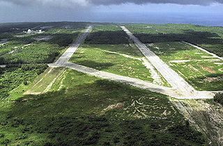 Northwest Field (Guam) 1944-1949 military airbase on Guam in the Mariana Islands