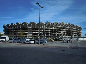 Nou Mestalla - Current state of the stadium