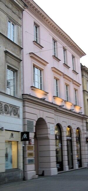 Karol Szymanowski - Nowy Świat 47 street, Warsaw, where Szymanowski lived and composed in 1924–29