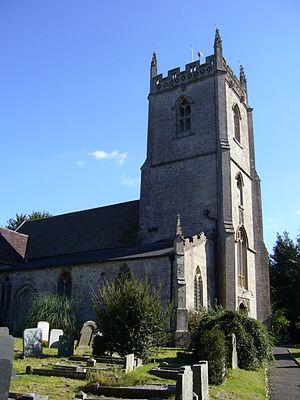 Church of All Saints, Nunney - Image: Nunneychurch 2