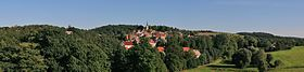 Panoramic picture of Osterfeld