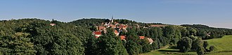 Osterfeld - Panoramic picture of Osterfeld