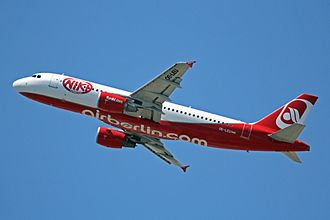 Niki (airline) - Niki Airbus A320-200 in the latest livery used from 2012 until 2017