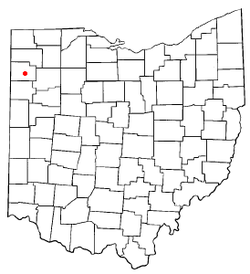 Location of Broughton, Ohio