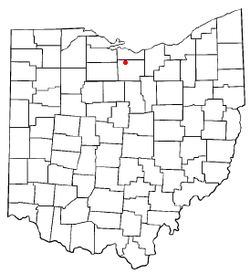 Location of Monroeville, Ohio