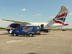 Hradec Králové Airport - DO328 JET landed in Hradec Kralove with Muse band