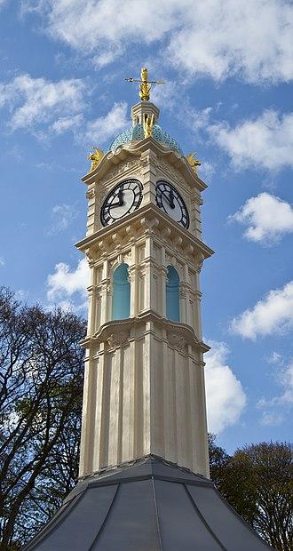 Oakwood, Leeds - Image: Oakwood clock tower