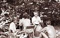 Ob bresterniškem jezeru v Limbušu 1961.jpg