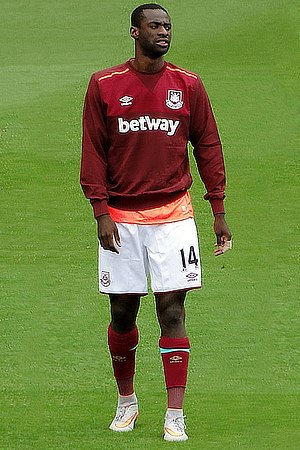 Pedro Obiang - Obiang with West Ham United in 2015