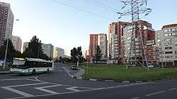 Skyline of Obruchevsky縣