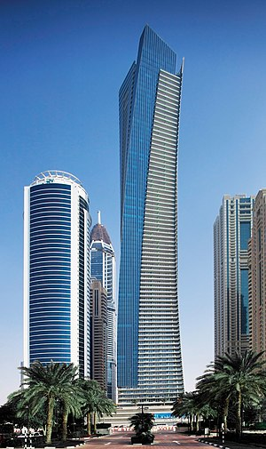 Ocean Heights (Dubai) - Image: Ocean Heights Dubai Marina