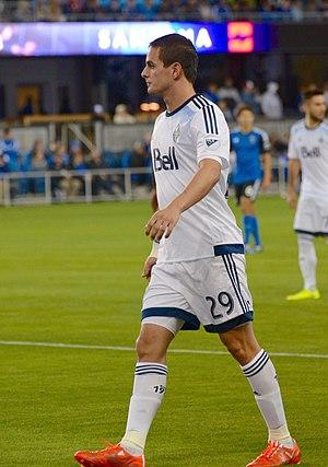 Octavio Rivero - Rivero with Vancouver Whitecaps FC in 2015