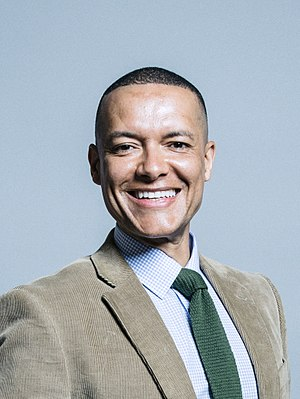 Clive Lewis (politician) - Image: Official portrait of Clive Lewis crop 2