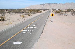 Mexican Federal Highway 5 - Image: Oh shit dip 2
