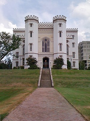Old Louisiana State Capitol - Louisiana's Old State Capitol, 2009