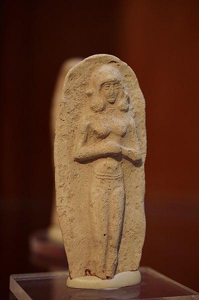 File:Old Babylyonian statue in the Silemani Museum, Kurdistan Region of Iraq 02.jpg
