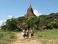 Old Bagan, Myanmar, Children in Bagan plains.jpg