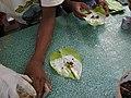 Old Bagan, Myanmar, Paan, the betel leaf and areca nut preparation.jpg