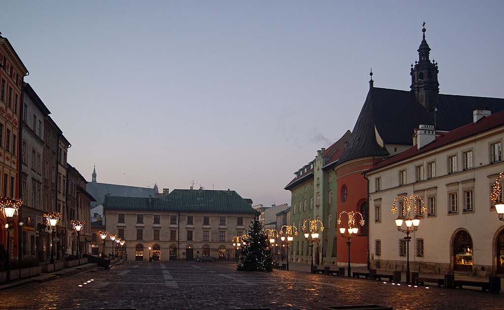 Plik Old Town Little Market Square Krakow