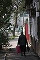 Old woman walking. Astrakhan. Russia. Пожилая женщина. Астрахань. Россия - panoramio.jpg