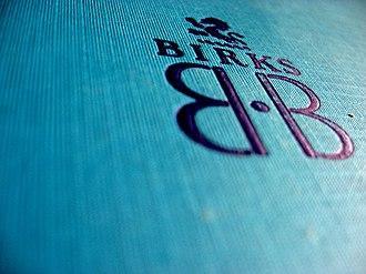 Birks Group - Image: Oldbirksboxfrom 1950s