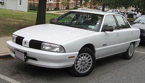 Oldsmobile Achieva - Oldsmobile Achieva SL sedan