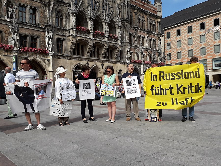 Oleg Sentsov, Action Support. Munich, Germany. 2018-06-03. 06.jpg