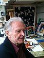 Olle Langert dans son atelier en 2014.jpg