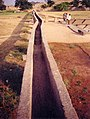 One of the Many AQUEDUCTS that supplied water to the ponds and tanks of Hampi from the Kamala Pura Lake - panoramio.jpg